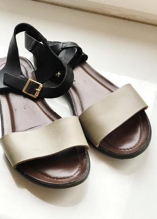 Кожаные сандалии braska