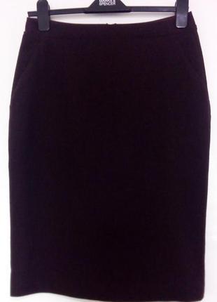 Стильная юбка карандаш, миди, uniclo