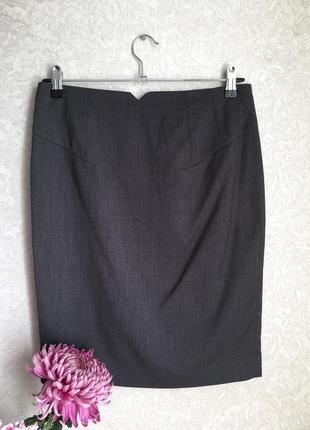 Красивая классическая юбка карандаш  s-m размер