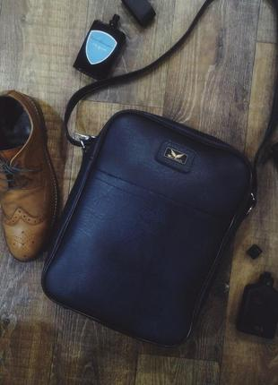 Мужская сумка mat roselli. кожаная сумка mat roselli. мужская сумочка планшет.