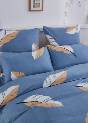 Сатиновое постельное бельё двуспальное комплект
