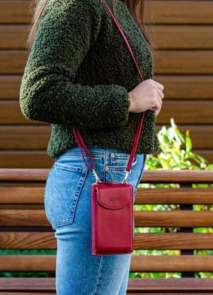 Женская сумочка через плечо, мини-сумка из экокожи