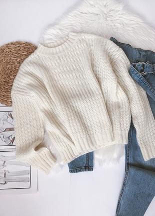Мягкий свитер крупной вязки pimkie