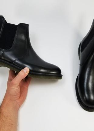 Aktrak made in india черные ботинки но осень зиму размер 41 43 44 45