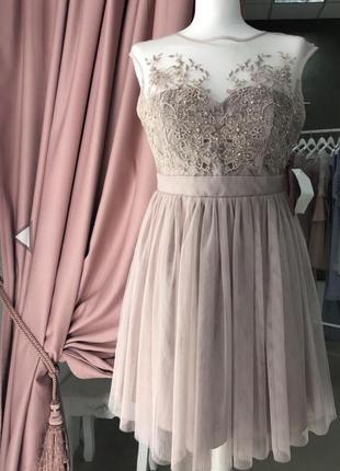 Вечернее коктейльное платье на выпускной zara