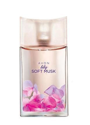 Soft musk lily avon туалетная вода 50 ml