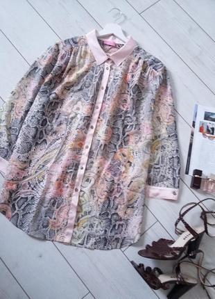 Basler изумительная нежная блуза батал