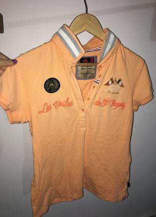 Стильная футболка поло ,размер l