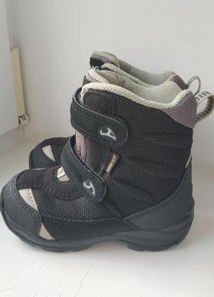 Зимние термо ботинки viking gore-tex 24р. 16.5 см.