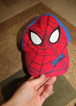 Кепка бейсболка на 2-3 года человек паук