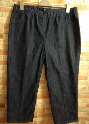 Укороченные стрейч джеггинсы джинсы 18/52-54 размера