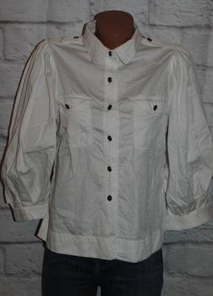 """Рубашка с объемными рукавами """"polo jeans company ralph lauren"""""""