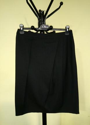 Классическая миди юбка в полоску george