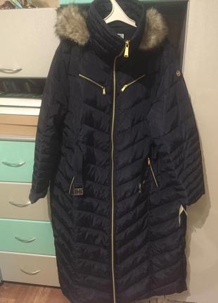 Пальто michael kors, оригинал, зима, новое, xxl.