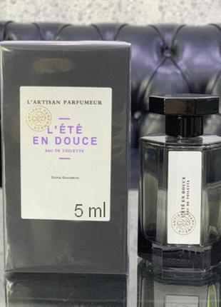 L`artisan parfumeur _l`ete en douce_original mini 5 мл_миниатюра пробник