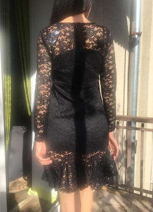 Кружевное платье abercrombie & fitch