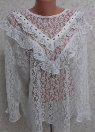 💚очень красивая блуза от new look р.22💚