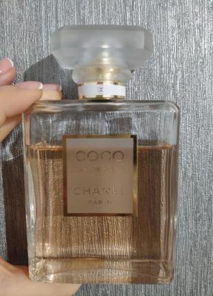 Продам парфюмированную воду chanel coco mademoiselle 100 мл. оригинал.