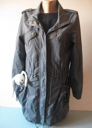 Парка - куртка - ветровка - с большими карманами ! оверсайз!