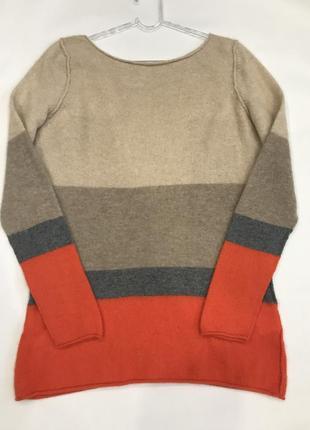 Кашемировый свитер бренда alba moda. 100% кашемир. размер l.