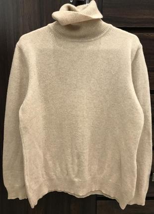 Шерстяной свитер бренда marco pecci. размер m-l.