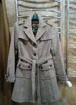 Пальто шерсть easy comfort теплое#розвантажуюсь