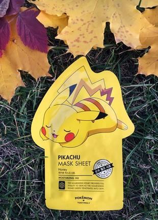 😍маска для лица pokemon mask sheet naong nutrition от tony moly