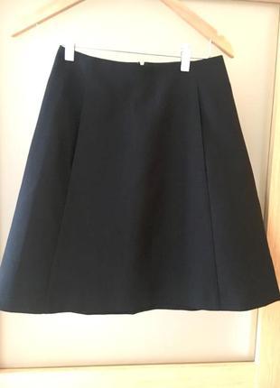 Невероятное качество юбка-трапеция yves saint laurent