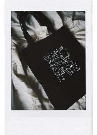Эко сумка хлопковый шоппер