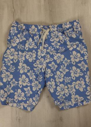 Шорты  waikiki мужские в цветочек пляжные