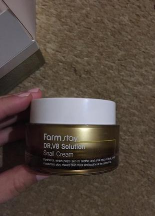 Крем farm stay dr.v8 solution snail cream