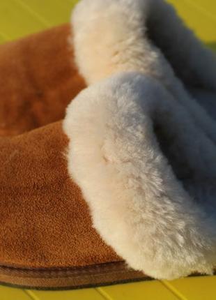 Тапочки 100% натуральные. густой мех 38-39