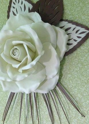 Декор настенный цветок 3д