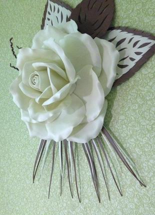 Декор настенный цветок роза 3д