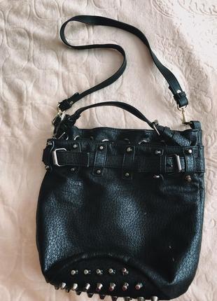 Сумка через плечо , сумка на длинной ручке, маленькая сумка