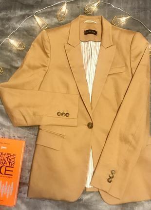 Брендовый пиджак massimo dutti