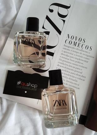 Zara wonder rose 100мл, изысканный, манящий, вкусный аромат! оригинал, из германии!
