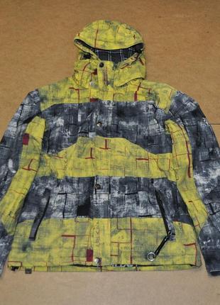 Ride горнолыжная яркая куртка сноубордическая