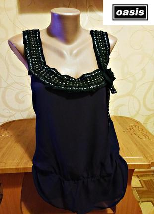 Новая с бирками шифоновая блузка от oasis, оригинал