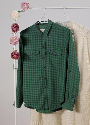 Рубашка в клітинку abercrombie & fitch (шалена ціна актуальна лише до понеділка)