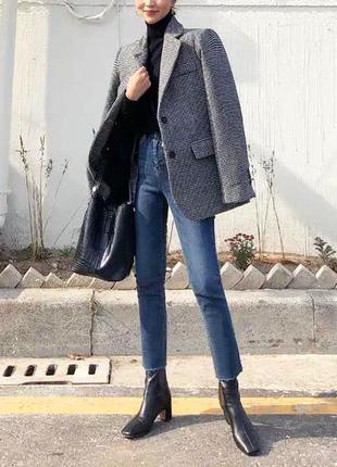 Стильные укороченные джинсы (на невысокий рост)