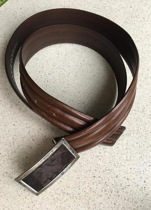 Пояс ремень мужской levi's armani кожаный оригинал кожа натуральная