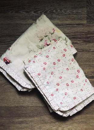 Наволочки в цветочный принт/постельное белье