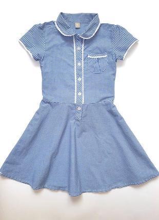 Школьная форма, платье tu на 7 лет, 122 см, состояние новой вещи