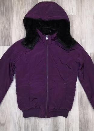 Теплая курточка fishbone / куртка с капюшоном