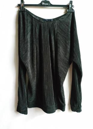 Блуза плиссе французского бренда kiabi m оригинал сток европа