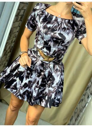 Роскошное коктейльное платье elisabetta franchi