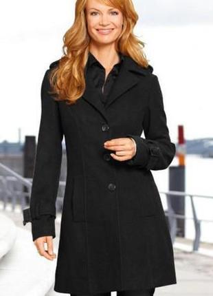 Женское деми пальто с шерстью.esmara/германия