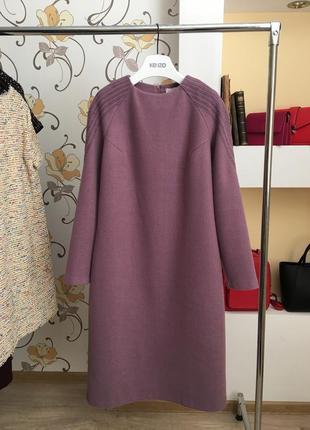 Тёплое , шерстяное , повседневное ,базовое , дизайнерское платье от seam