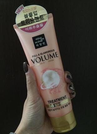Корейская косметика маска для объема волос mise en scene